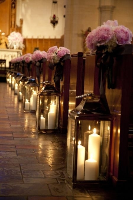 Large Candle Lantern Ceremony Aisle Decor Weddingcandles Ie