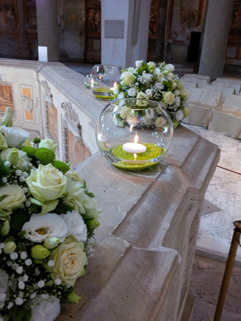 DebraFlower Italian wedding flowers weddingcandles.ie