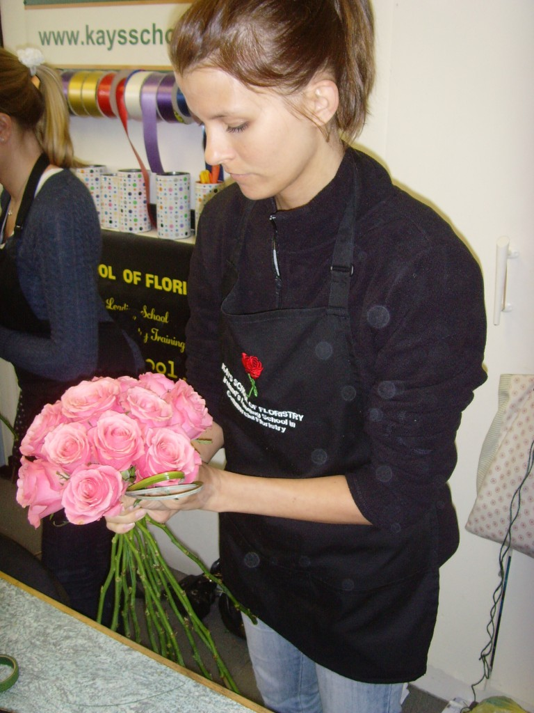 Kay's school of Floristry flower arranging courses weddings