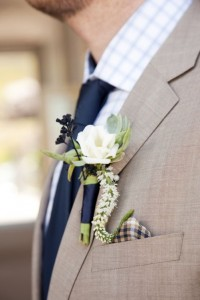 Taupe colour palette natural wedding