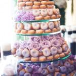 Alternative wedding cake ideas donuts doughnuts