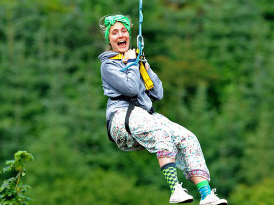 Hen party ideas adventure zipline