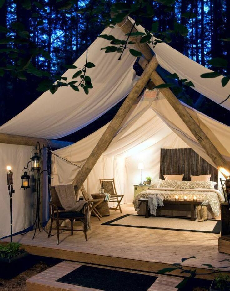 Hen party ideas glamping glamour camping