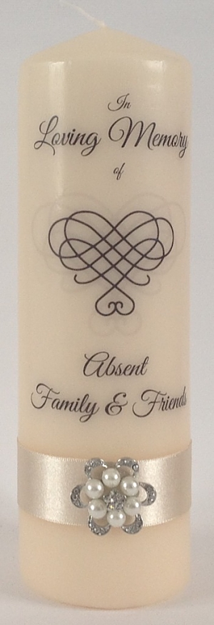 Remembering loved ones at wedding sentimental wedding ideas wedding candles ireland