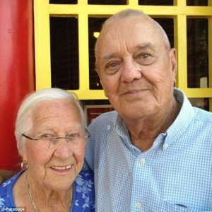 Incredible love stories elderly couple die hours apart holding hands