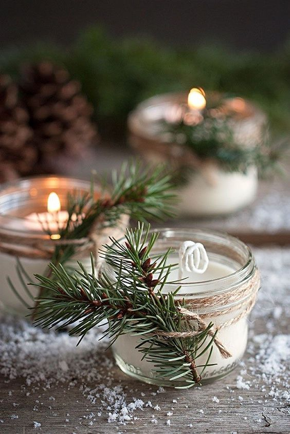 winter wedding favours