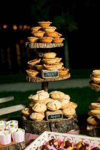 Autumn wedding inspiration food