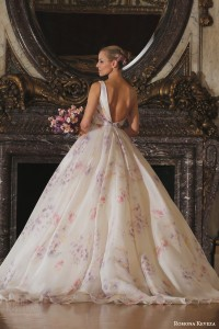 Bridal fashion trends 2016 floral